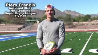 Testimonial by Piers Francis Fly Half for Auckland Blues after One on One Lesson 2017 Video