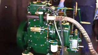 Kelvin P2R marine diesel engine first test run