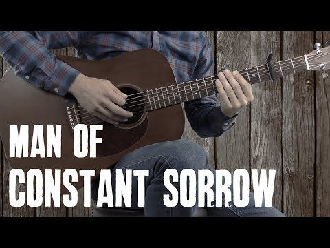 Man of Constant Sorrow  Guitar Lesson Tutorial