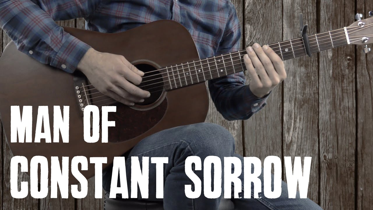Man Of Constant Sorrow Guitar Lesson Tutorial Youtube