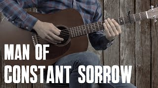 Man of Constant Sorrow | Guitar Lesson Tutorial