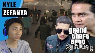 Bentrok Anak Jalanan Vs Black Cobra - Grand Theft Auto Extreme Indonesia  Dyom #