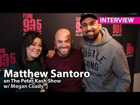 Matthew Santoro - FLOW 93-5 Interview