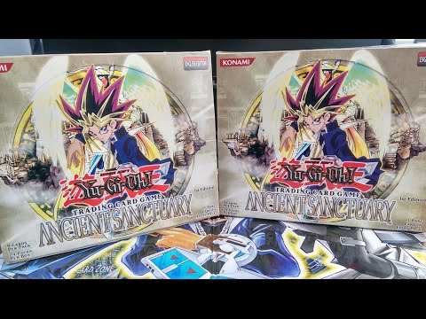 Best Yu-Gi-Oh! Ancient Sanctuary Booster Box Opening [1st Edition]