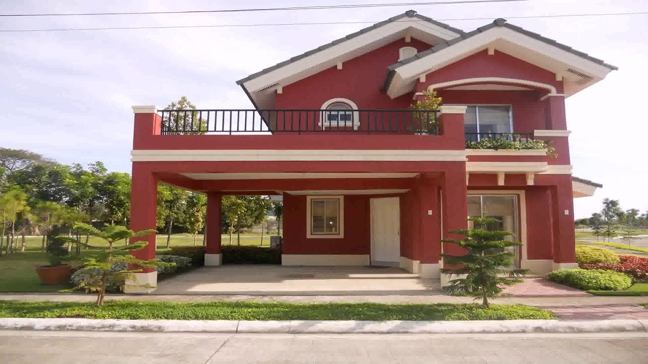House design with veranda philippines youtube for House paint design philippines
