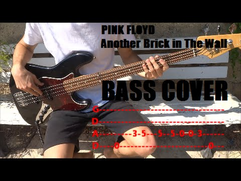 Pink Floyd Another Brick In The Wall Bass Cover Tabs