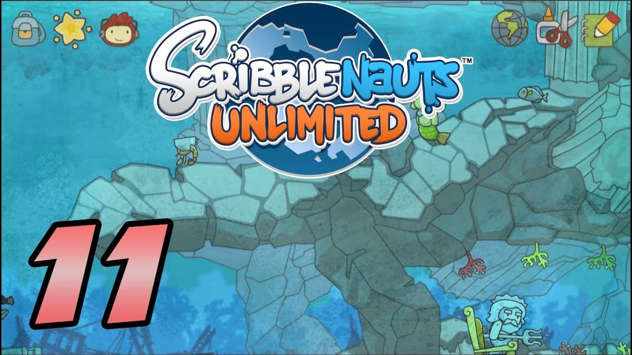Scribblenauts Unlimited Atlantis Mermaid 11 Youtube