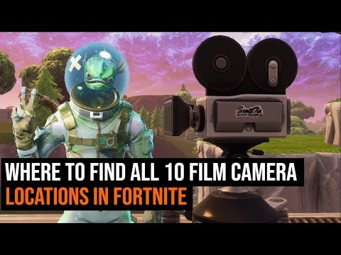 Where To Find ALL 10 Film Camera Locations In Fortnite