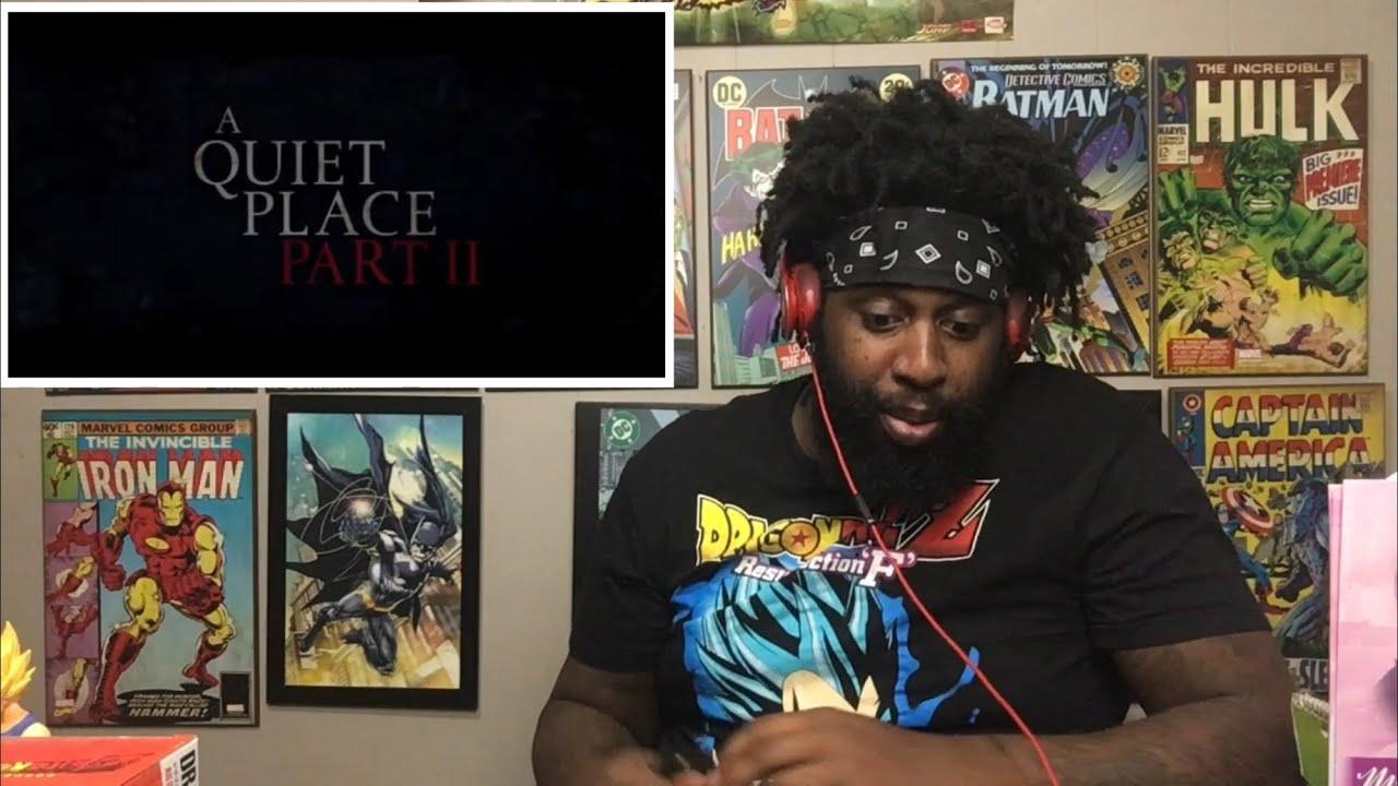 A QUIET PLACE PART II - Final Trailer Reaction