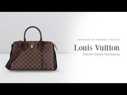Banananina Product Review: Louis Vuitton Damier Ebene Normandy