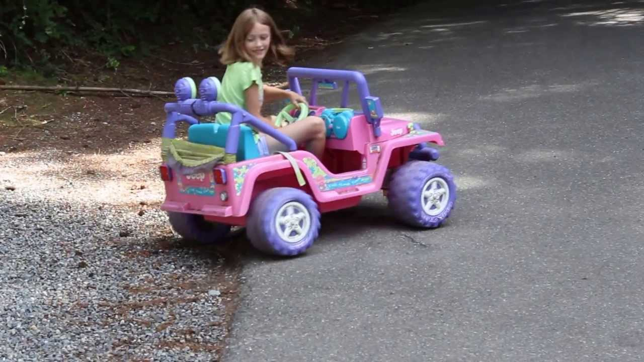 12v to 18v conversion power wheels barbie jeep [ 1280 x 720 Pixel ]
