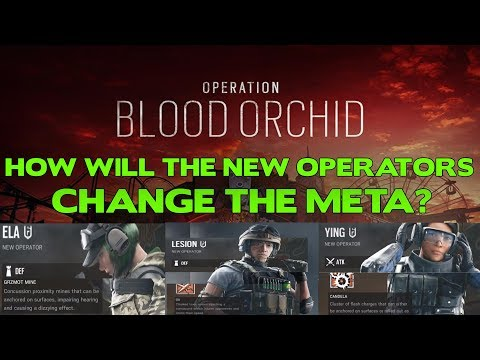 Operation Blood Orchid Operators || How will they change the meta?