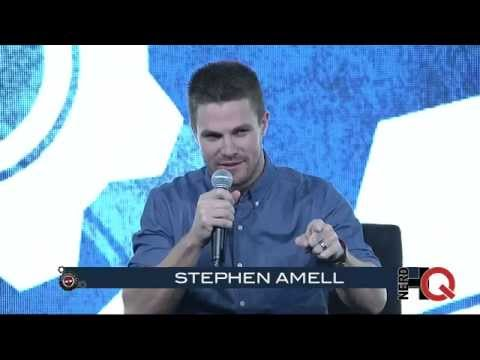 A Conversation with Stephen Amell live from #NerdHQ 2014