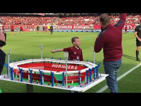 The day I took my Lego stadium to FC Nurnberg!!!