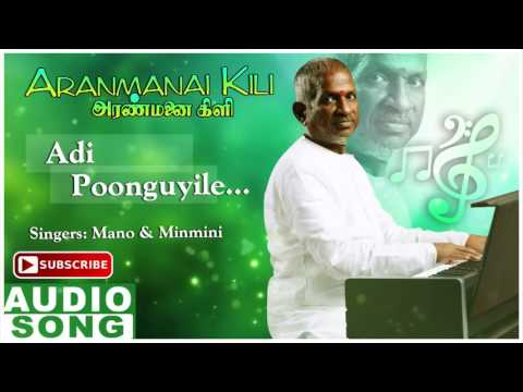 Aranmanai Kili Tamil Movie Songs | Adi Poonguyile Song | Rajkiran | Ahana | Ilayaraja | Music Master