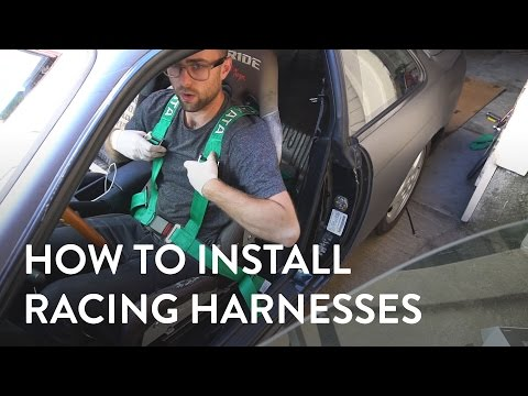 How To Install Takata Drift Racing Harness