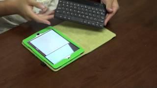 fintie ipad mini bluetooth keyboard folio case