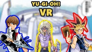 3-way duel with God cards in Yu-Gi-Oh! VR