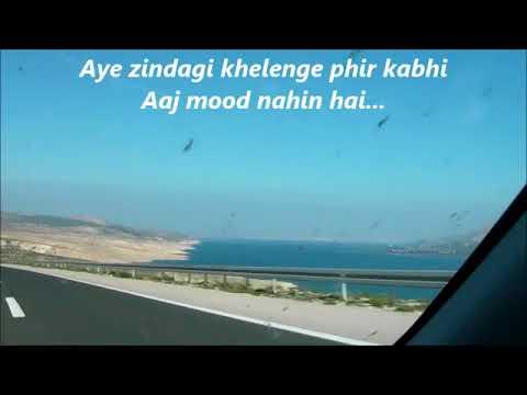AYE ZINDAGI with Lyrics || HOPE AUR HUM || Shaan || Sonali Kulkarni || Naseeruddin Shah