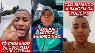 MC'S SE PRONUNCIAM SOBRE CASO SALVADOR DA RIMA
