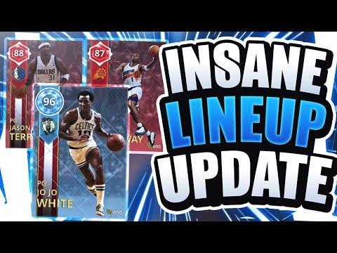 INSANE NBA 2K18 LINEUP UPDATE! DIAMOND JOJO WHITE AND MORE! NBA 2K18 MYTEAM!