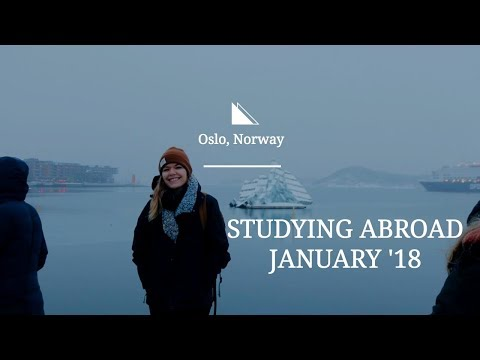 Studying Abroad in Oslo, Norway EP. 1
