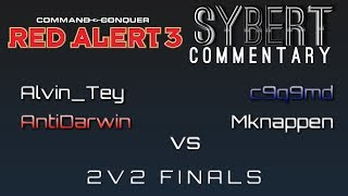 alvin tey antidarwin vs c9q9md mknappen bo5 2v2 finals red alert 3