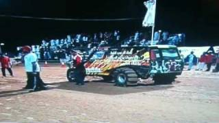 TWIN TURBO V8 NISSAN PATROL 4X4 IN MIDDLE EAST DRAG RACE