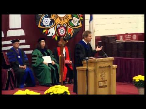 Spring 2013 Commencement   Dan Tomal address