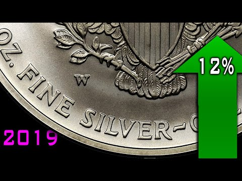 Silver Investment Demand Jumped 12% In 2019