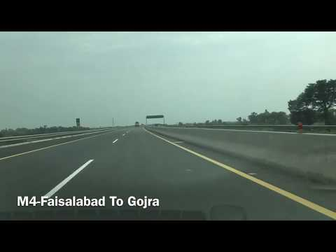 Motorways Pakistan M2-Islamabad To Lahore M4-Faisalabad To Gojra (CPEC ROUTE)
