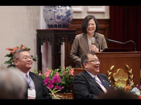 20190517 總統接見「中華強友文教協會」創辦人、理監事及重要幹部