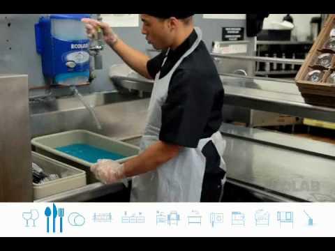 silverware cleaning machine