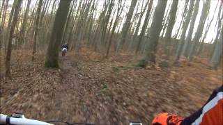 Hörselberg // Trails // Downhill // GoPro 3 White // Gaint Glory 2 // Ghost GSX