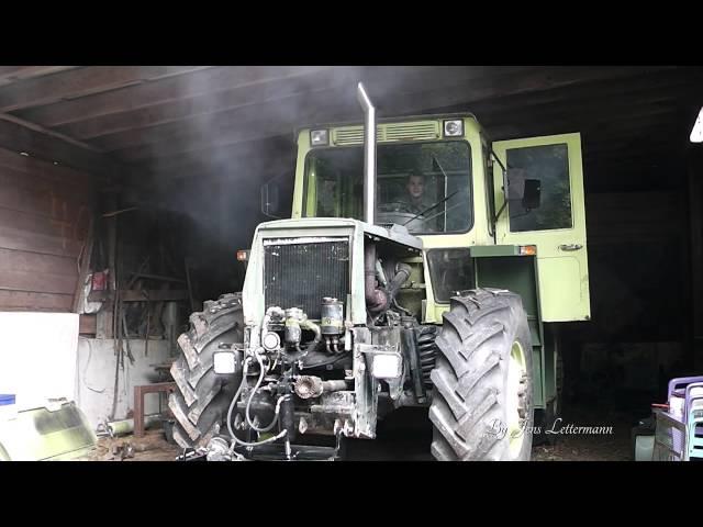 Mercedes Benz Trac 900 Farm Tractor | Mercedes Benz Farm Tractors
