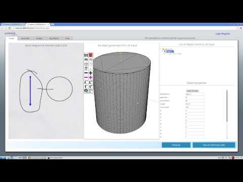 002 Creating your first 3d object using scribble3d