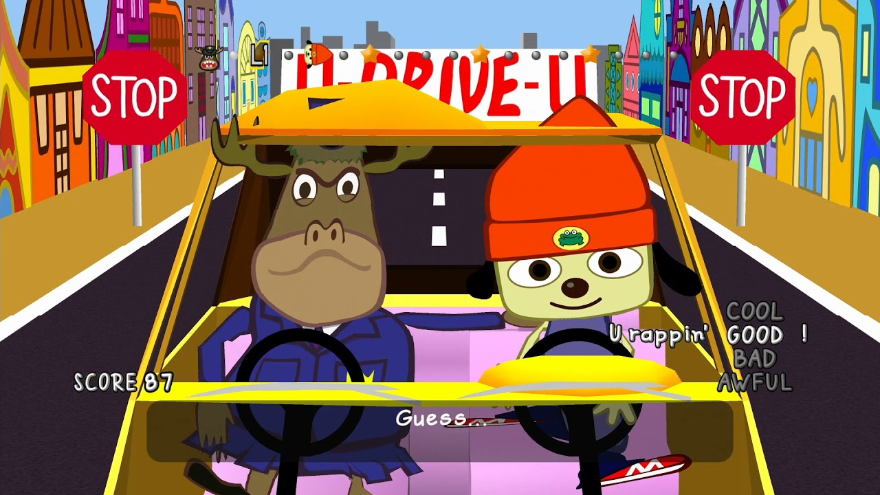 PS4 Longplay [159] PaRappa the Rapper Remastered