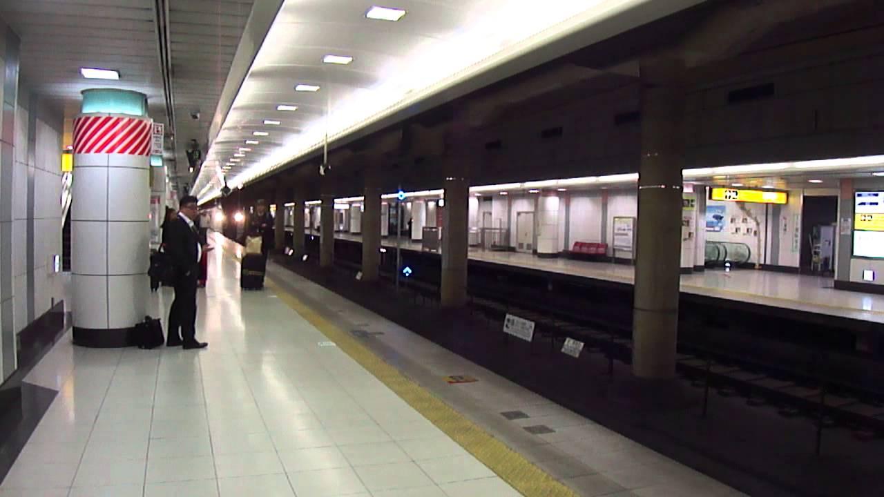 日本東京成田機場NEX電車進站 - YouTube