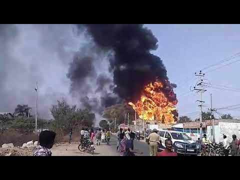 Petrol pump blast at cherpally/Secunderabad 🔥🔥