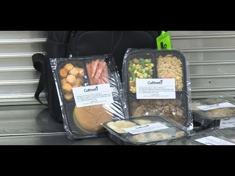 School Cafeteria Turns Leftover Food Into Frozen Take-Home Meals For Kids