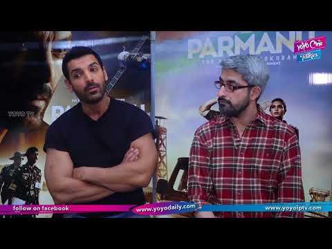 John Abraham and Abhishek Sharma Interview For PARMANU-The Story Of Pokhran | YOYO Cine Talkies