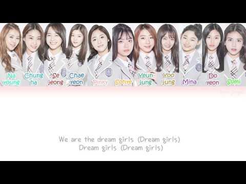 I.O.I (아이오아이) – Dream Girls (드림걸스) Lyrics (Han|Rom|Eng|Color Coded)