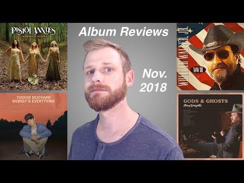 Pistol Annies, Wheeler Walker Jr., Kip Moore, Kane Brown, and More (Album Reviews - November 2018)