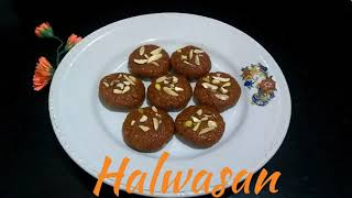 Delicious Recipes # 21 | Halwasan | Diwali Special | Khambhat Sweet