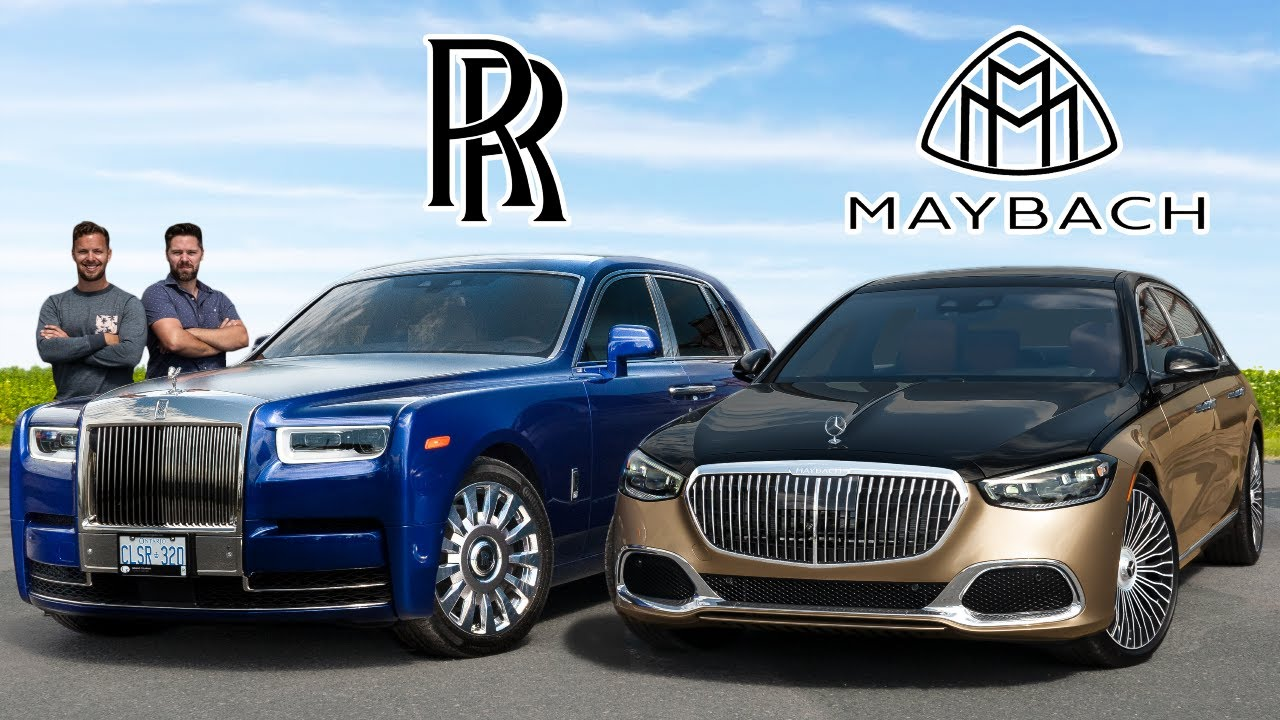 2021 Rolls-Royce Phantom vs Maybach S-Class // King Meets Prince