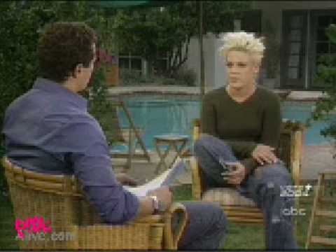 Pink on ABC Primetime (november 2003)