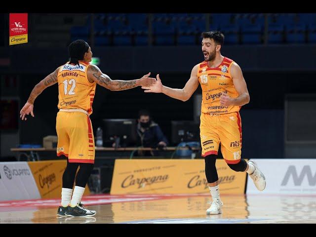 [Sintesi] Carpegna Prosciutto Basket Pesaro - Vanoli Basket Cremona : 95-83