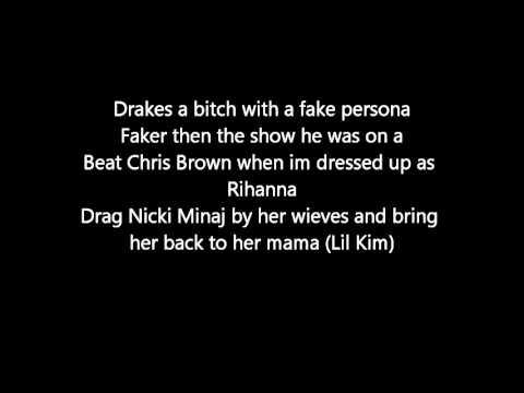 Eminem Disses Justin Bieber, Drake, Rihanna,, Nicki Minaj, Rick Ross (LYRICS) (NEW LEAKED 2013)
