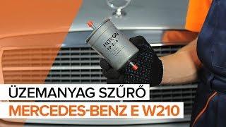 MERCEDES-BENZ E-osztály javítási csináld-magad - videó-útmutatók
