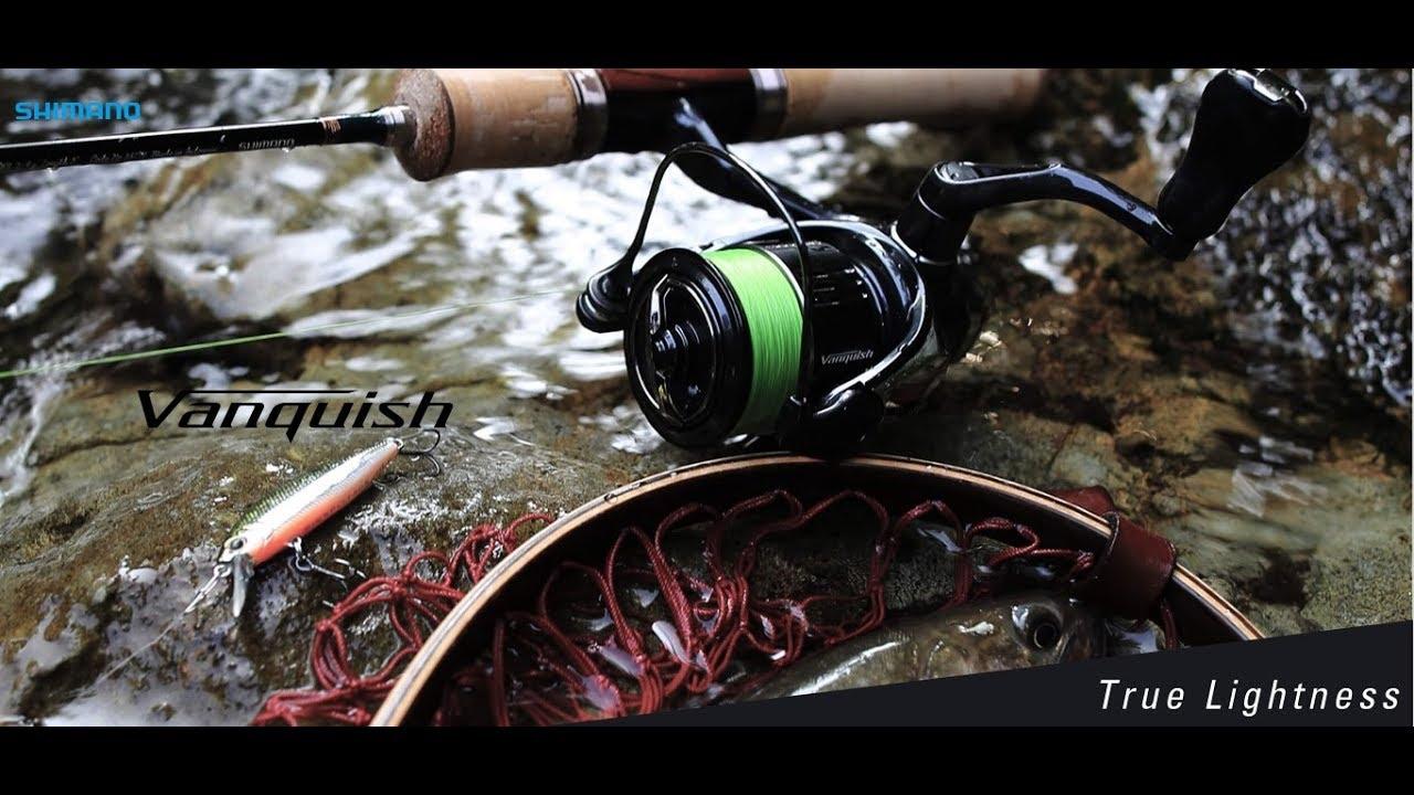 2e5602095ad SHIMANO ULTRA LIGHT FISHING FINESSE SPINNING REEL VANQUISH 2019. 2000S